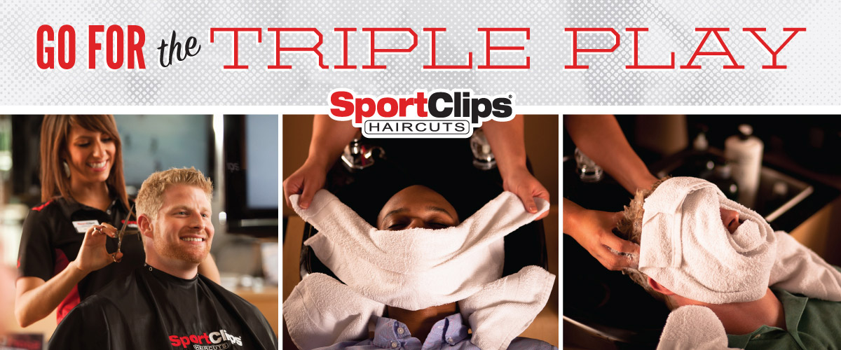 The Sport Clips Haircuts of North Orem Triple Play